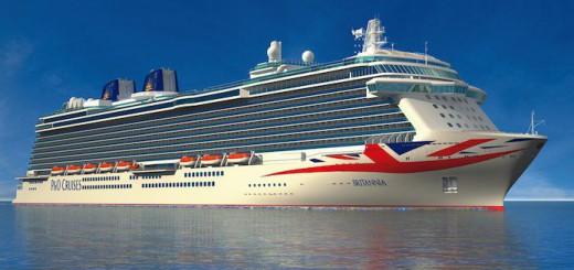 P&O Brittania wird in Saint Lucia stationiert / © P&O Cruises