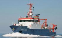 Forschungsschiff SOLEA auf 700. Wissenschaftsreise