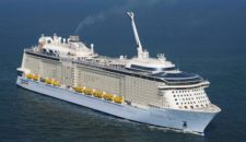 Sturm: Anthem of the Seas beschädigt