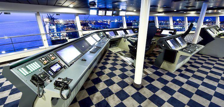 Brücke Anthem of the Seas / © Meyer Werft
