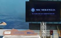 MSC Meraviglia: Das erste MSC Vista-Projekt Kreuzfahrtschiff