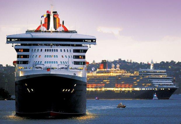 Queen Mary 2 und Queen Elizabeth / © Cunard Line