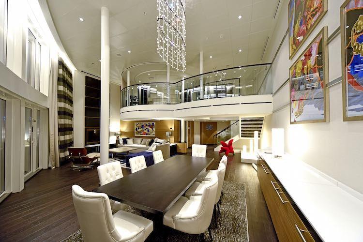 Royal Loft Suite Anthem of the Seas / © Meyer Werft