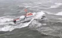 Video: Sturmfahrt der Hermann Marwede von der DGzRS