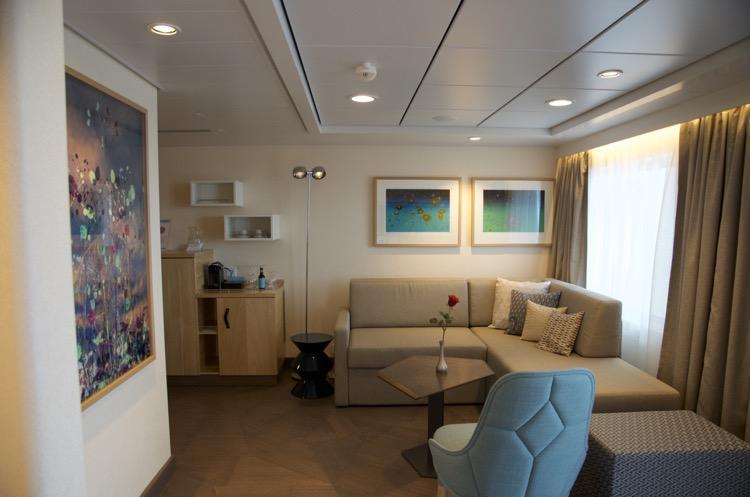 Diamant Suite 6176 - Wohnbereich - Mein Schiff 4