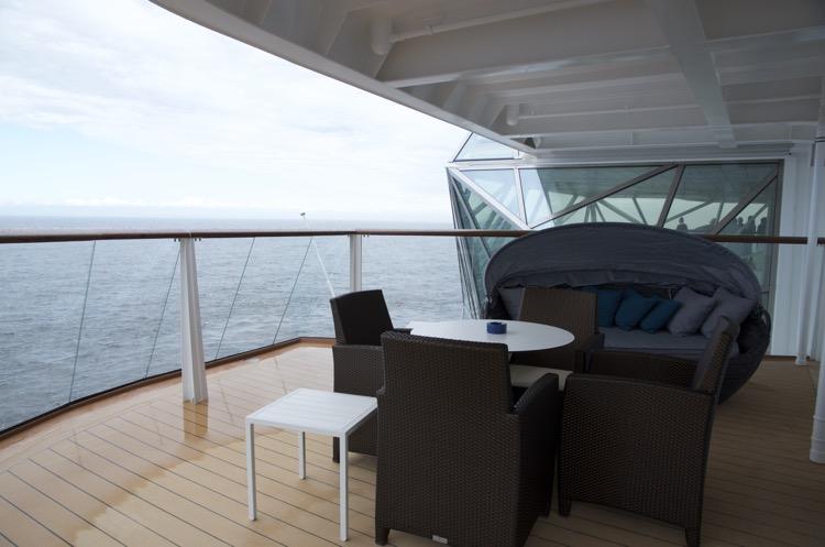 Diamant Suite 6176 - Veranda - Mein Schiff 4