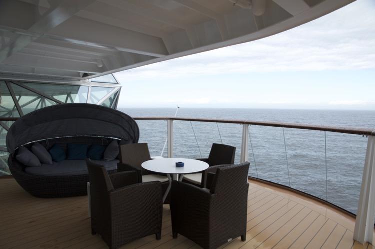 Diamant Suite 6181 - Veranda - Mein Schiff 4