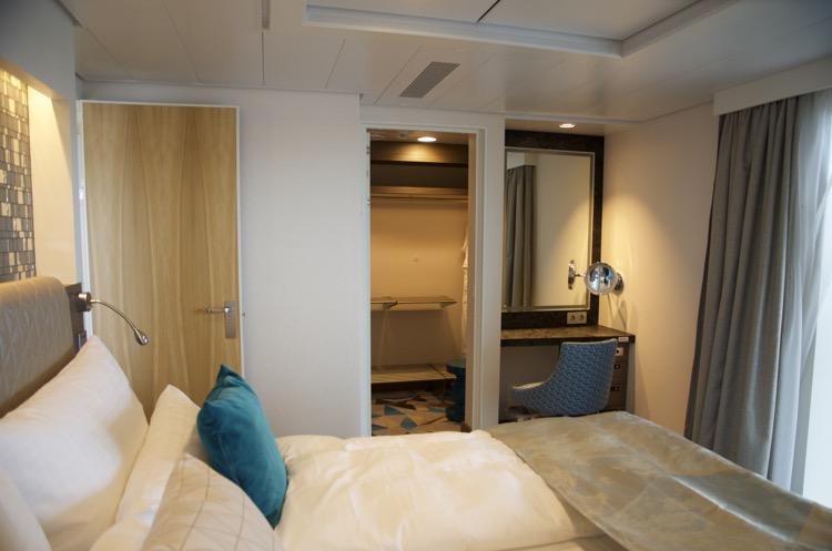Diamant Suite 6181 - Schlafzimmer - Mein Schiff 4