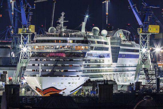 AIDAdiva in der Werft 2015 / © AIDA Cruises