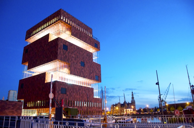 Museum am Fluss MAS in Antwerpen