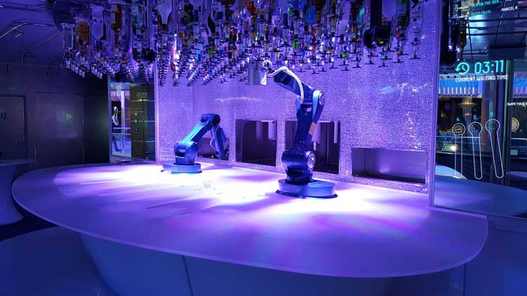 Bionic Bar - Royal Caribbean