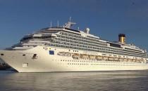 Costa Favolosa und Regal Princess fahren schützenden Kieler Hafen statt Warnemünde an