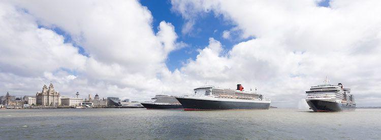 Cunard Queens in Liverpool / © Cunard