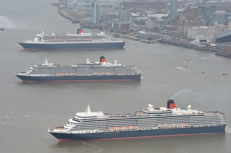 Cunard Queens in Liverpool / © Cunard