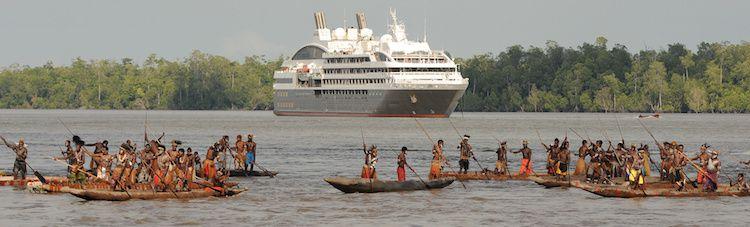 Expeditionskreuzfahrten mit den Luxus-Yachten von Ponant / © Ponant