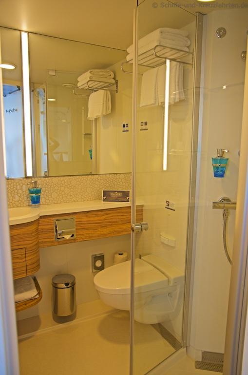 Mein schiff familienkabinen for Mein badezimmer