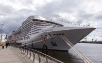 MSC: Große Schiffsparade in Hamburg am 18.September