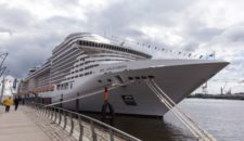MSC: Große Schiffsparade in Hamburg am 18.September
