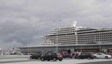 MSC: 7000 Passagiere am neuen Cruise Terminal in Hamburg