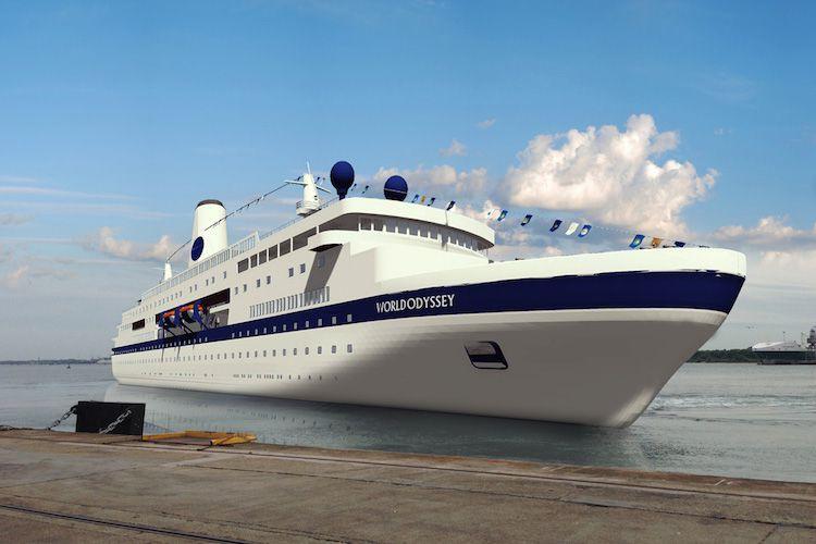 World Odyssey - die alte MS Deutschland in neuem Gewand / © Semester at Sea