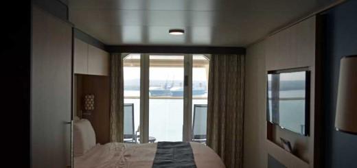 Balkonkabine Kat. D4 - auf der Anthem of the Seas