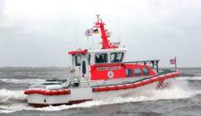 """Seenotrettungsboot """"Henrich Wuppesahl"""" auf erstem Einsatz"""