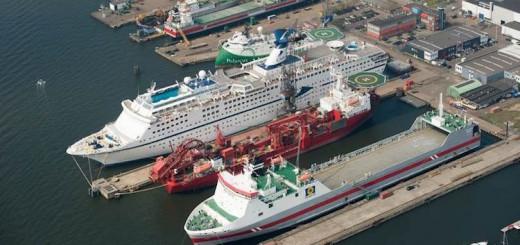 Magellan im Trockendock in Amsterdam / © Damen Shipyard