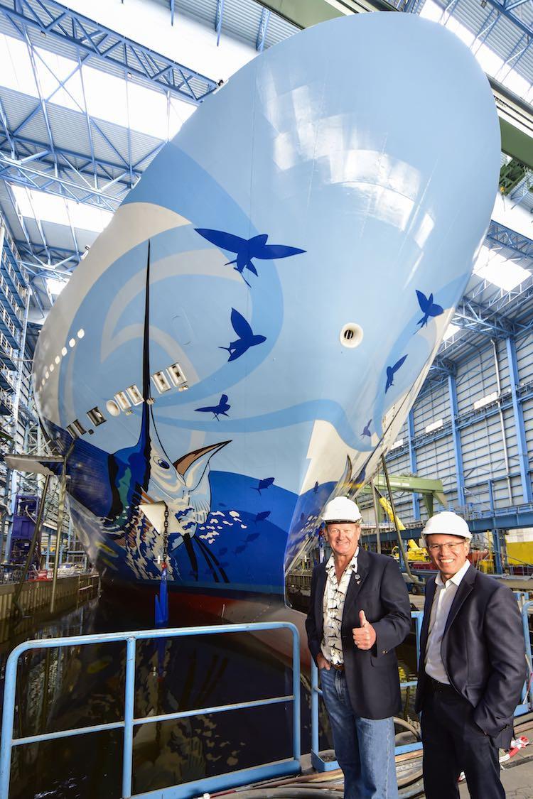 Norwegian Escape Bugbemalung / © Norwegian Cruise Line