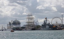 Hanseail: Auch AIDA Cruises ist vor Ort