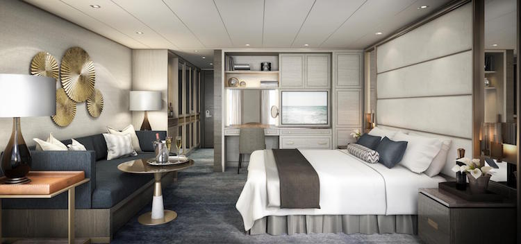 Crystal Esprit: Suite / © Crystal Cruises