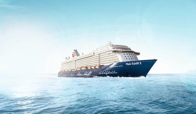 Mein Schiff 5 Taufnacht ist buchbar / © TUI Cruises