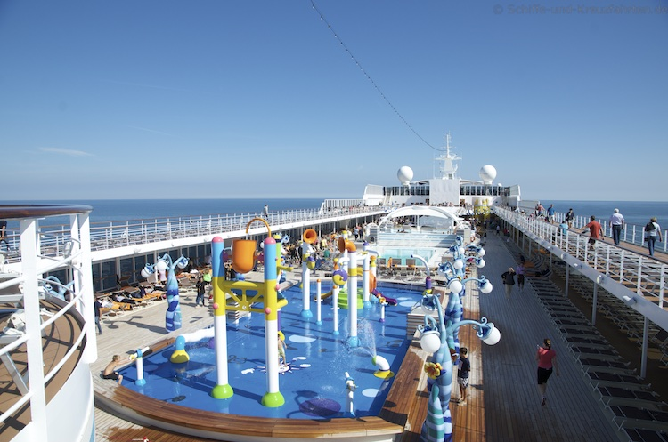 MSC Sinfonia - Doremi Spray Park