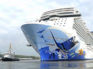 Norwegian Escape startet ab Miami später um den europäischen Gästen eine stressfreie Anreise zu ermöglichen / © Norwegian Cruise Line
