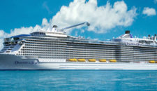 Taufe der Ovation of the Seas in China