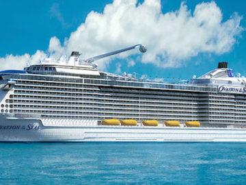 Ovation of the Seas soll planmäßig am 20.Februar 2016 ausgedockt werden auf der Meyer Werft / © Royal Caribbean International