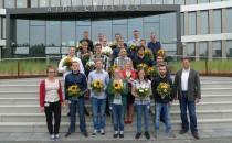 Abschlusszeugnis für Mechatronik-Mitarbeiter bei AIDA