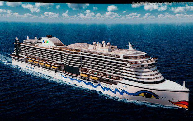 Zweiter AIDA Neubau wird im Oktober 2015 vorgestellt, der Name könnte AIDAperla sein / © AIDA Cruises