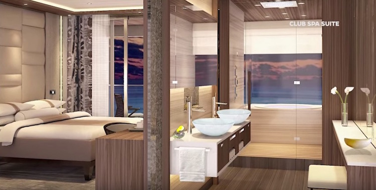 Azamara Journey: Club Spa Suite / © Azamara Club Cruises