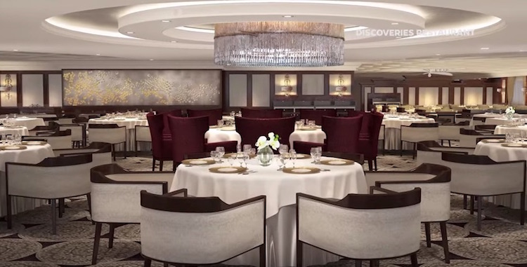 Azamara Journey: Discoveries Restaurant / © Azamara Club Cruises