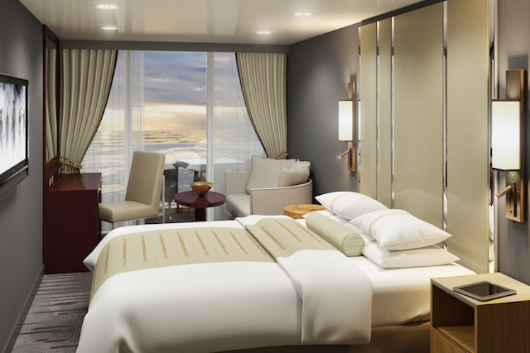 Azamara: Neue Balkonkabinen / © Azamara Club Cruises