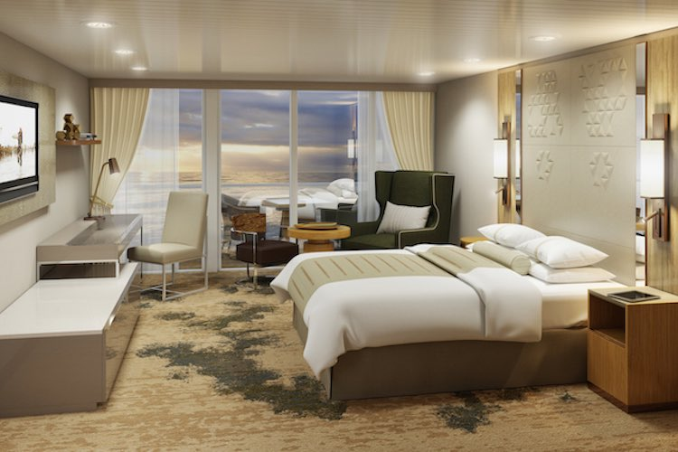 Azamara Journey: Neue Club Continental Suite / © Azamara Club Cruises