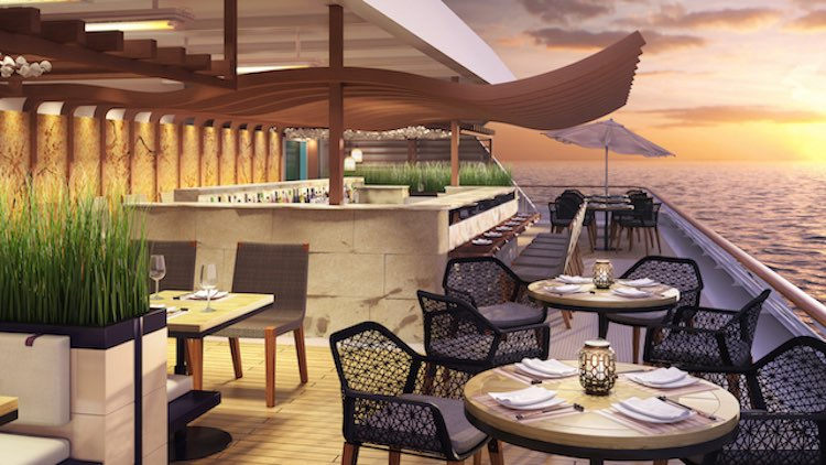 Azamara Journey: Neues Asian Al Fresco Restaurant / © Azamara Club Cruises