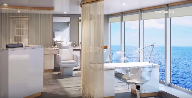 Azamara Journey: Spa-Salon / © Azamara Club Cruises