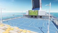 Fussball-Lounge: Europameisterschaft 2016 auf der Mein Schiff Flotte