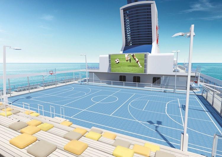Mein Schiff Fussball-Lounge mit prominenten Experten zur Fussball EM 2016 / © TUI Cruises