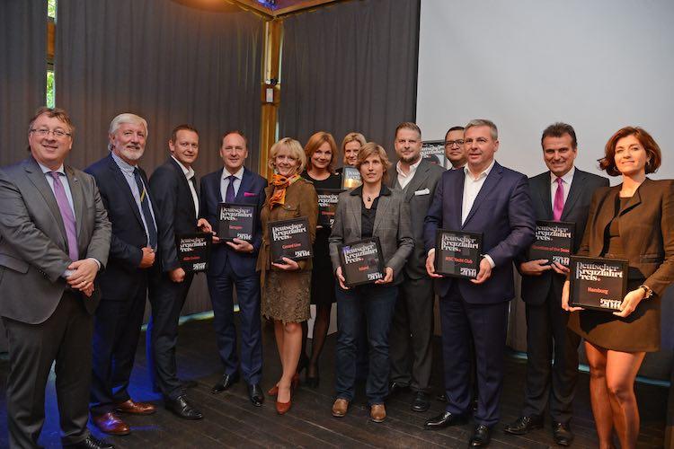 Gewinner beim deutschen Kreuzfahrtpreis 2016