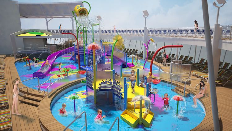 Der Splashaway Bay Wasserpark der Harmony of the Seas / © Royal Caribbean