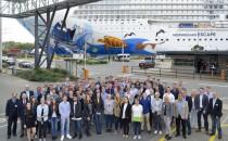 Meyer Werft empfängt 68 neue Azubis in elf Berufen