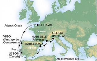 MSC Meraviglia - Nordeuropa © MSC Kreuzfahrten