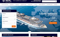 Neue Webseite von MSC Kreuzfahrten